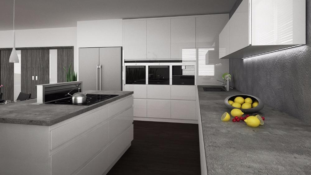 Chcete novou kuchyň? Domluvte si schůzku a navrhnu interiér i ve vaší kuchyni